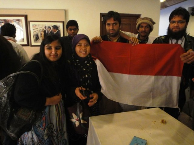 @ Indonesian booth