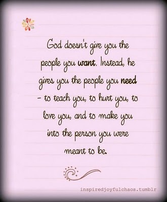 The person you need